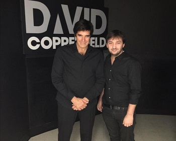 Show de magia de David Copperfield en Las Vegas